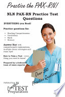 Practice the PAX RN NLN PAX RN Practice Test Questions