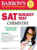 SAT Subject Test Chemistry  10th Edition