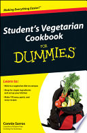 Student s Vegetarian Cookbook For Dummies