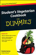 Student's Vegetarian Cookbook For Dummies Book