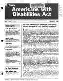 BNA s Americans with Disabilities Act Manual