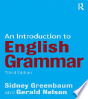 An Introduction to English Grammar