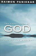 The Experience of God The Question And The Experience Of God In