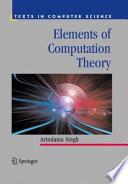Elements of Computation Theory