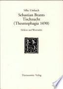 Sebastian Brants Tischzucht