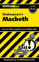 CliffsNotes on Shakespeare s Macbeth