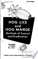 Hog Lice And Hog Mange