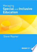 Managing Special and Inclusive Education