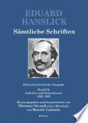 S  mtliche Schriften  Aufs  tze und Rezensionen  1862 1863