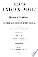 ALLEN S INDIAN MAIL