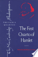 Ebook The First Quarto of Hamlet Epub William Shakespeare,Kathleen O. Irace Apps Read Mobile