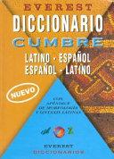 Diccionario Cumbre Latino Espa  ol Espa  ol Latino