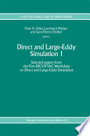 Direct and Large Eddy Simulation I