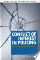 Conflict Of Interest In Policing