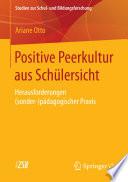 Positive Peerkultur aus Schülersicht