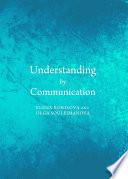 Understanding by Communication