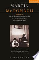 McDonagh Plays  1