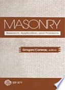 Masonry  Research  Application  and Problems