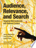 Audience  Relevance  and Search