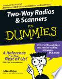Two Way Radios and Scanners For Dummies