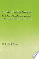 Are We Thinking Straight
