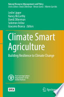 Climate Smart Agriculture : igo license. the book uses an economic lens...