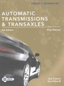 Today s Technician  Automatic Transmissions and Transaxles Shop Manual