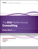 The 2011 Pfeiffer Annual, Consulting PDF
