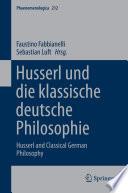 Husserl und die klassische deutsche Philosophie