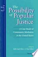 The Possibility of Popular Justice