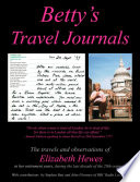 Betty's Travel Journals Retirement Years During The Last Decade Of