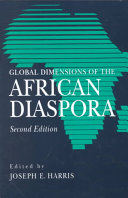 Global Dimensions of the African Diaspora