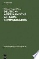 Deutsch-amerikanische Alltagskommunikation