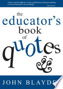 The Educator s Book of Quotes