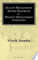 Quality Management System Handbook for Product Development Companies