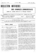 Bulletin officiel des annonces commerciales