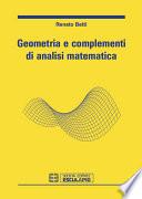 Geometria e Complementi di Analisi Matematica