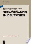 Sprachwandel im Deutschen