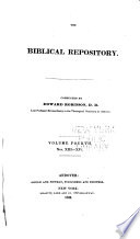 The Biblical Repository