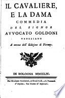Le Commedie del Signor Avvocato Carlo Goldoni