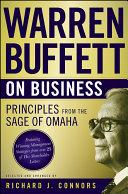 Warren Buffett on Business Book