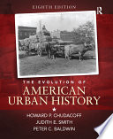 The Evolution of American Urban History   S2PCL