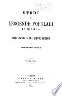 Biblioteca delle tradizioni popolari siciliane