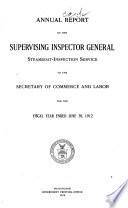 Report of the Supervising Inspector General