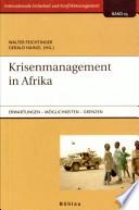 Krisenmanagement in Afrika