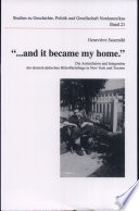 """""""...and it became my home."""""""