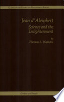 Jean D alembert Science