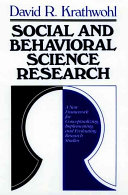 Social and Behavioral Science Research