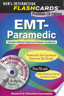 EMT Paramedic Premium Edition Flashcard Book W CD