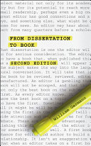 From Dissertation To Book Second Edition book